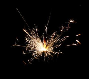 Sparklers sparks №25724