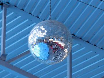 Mirror ball №25505