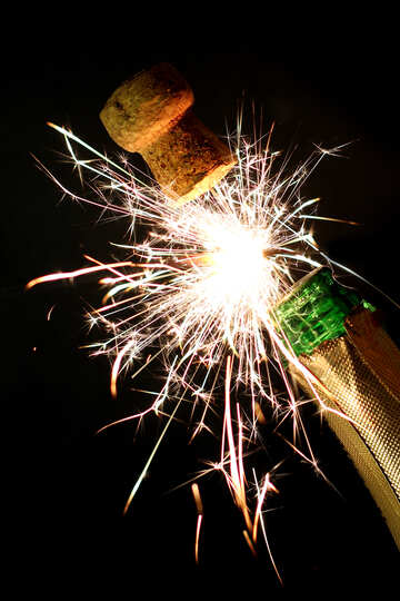 Wedding fireworks №25645