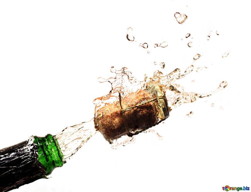 Champagne on the desktop №25095
