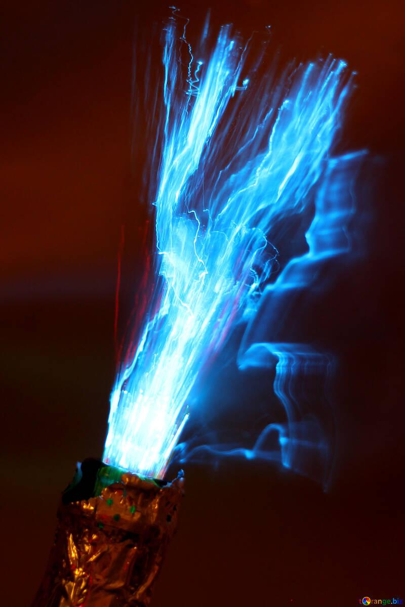 Fuego azul №25861