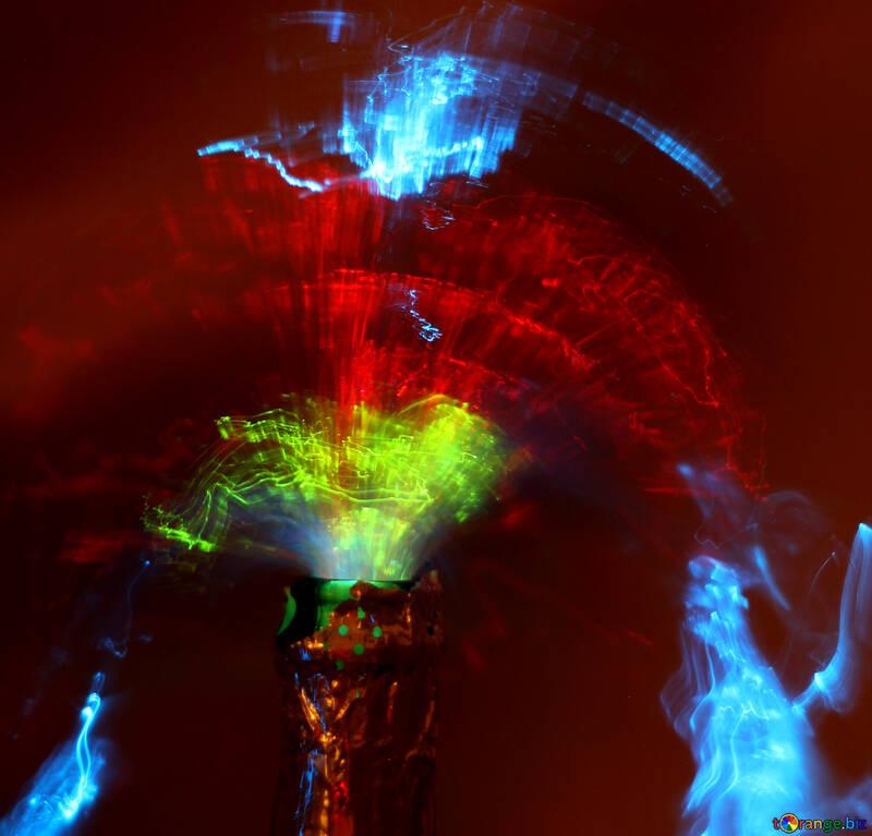 Dance of colors №25862
