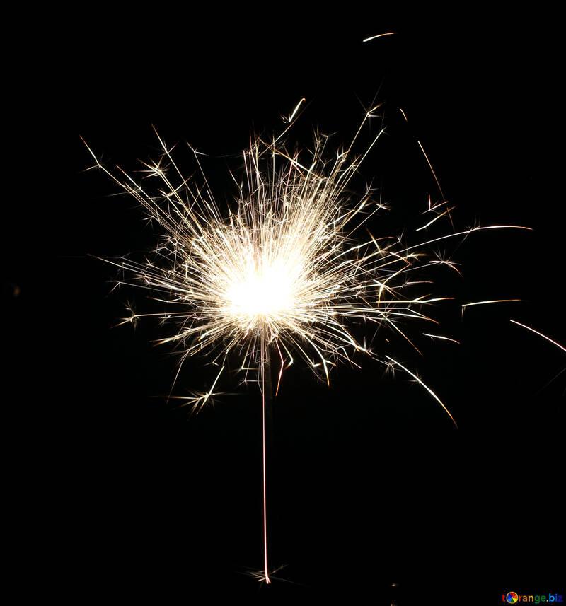 Flying sparks №25678