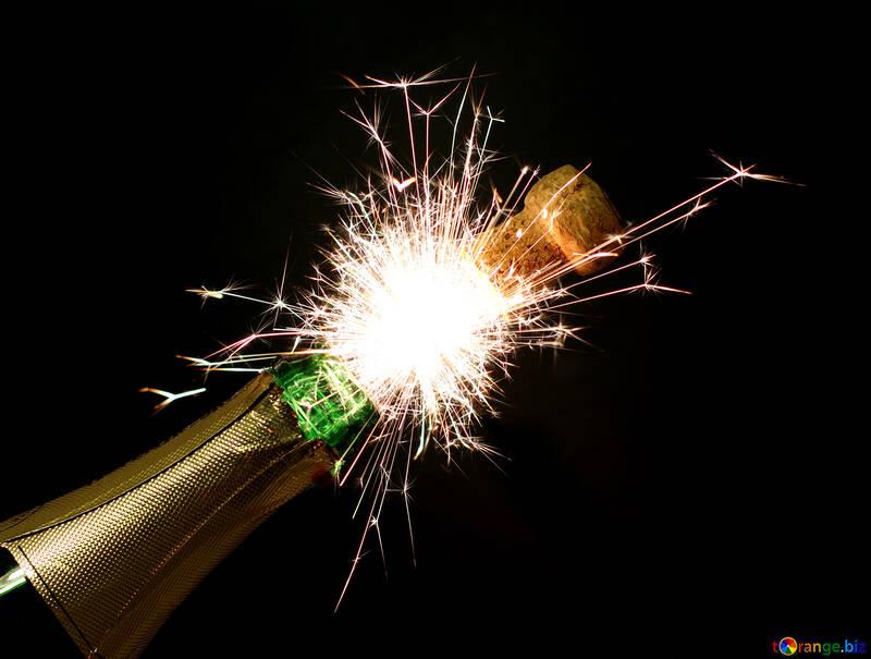 Wedding fireworks №25655