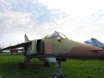 Fighter aircraft MiG-23 №26125