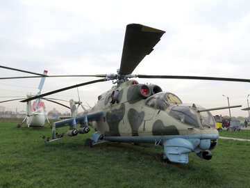 Soviet military helicopter №26330
