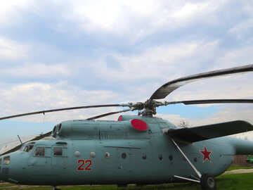 Soviet army helicopter №26265
