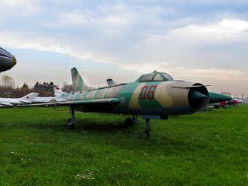 Jet fighter Su-7 №26458