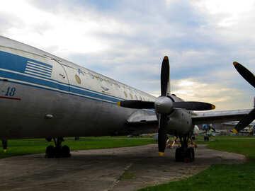 Old passenger plane №26436