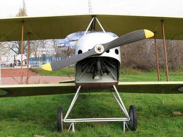 Retro plane №26091