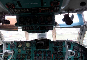 Cockpit aircraft №26364