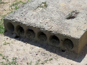 Concrete slab №26934