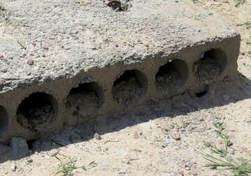 Hollow concrete slab №26933