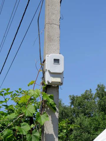 Electric meter №26969