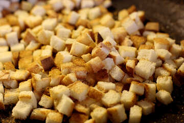 Fried croutons №26981