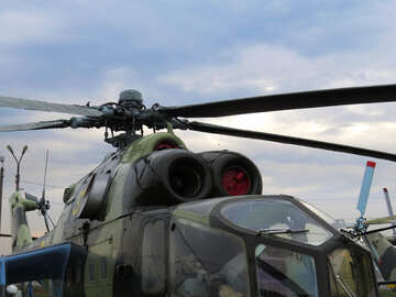 Military helicopter №26321