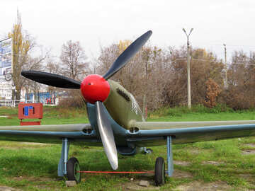 Old military aircraft №26101