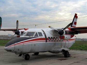 Small passenger plane №26225