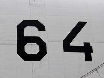 Número de aviones 64 №26306