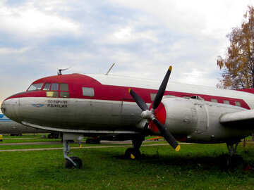 Old Soviet aircraft №26451