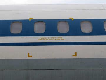 Texture portholes passenger aircraft №26293