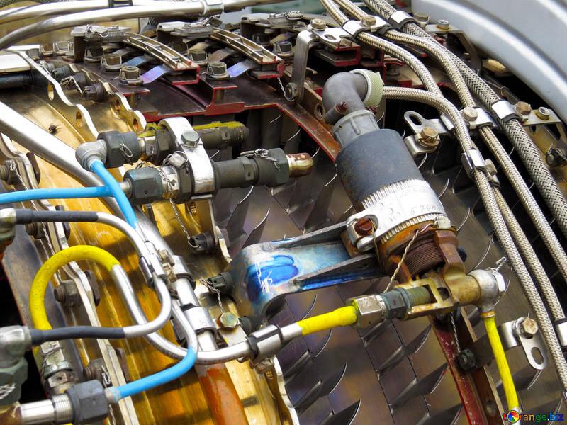 Jet engine №26244