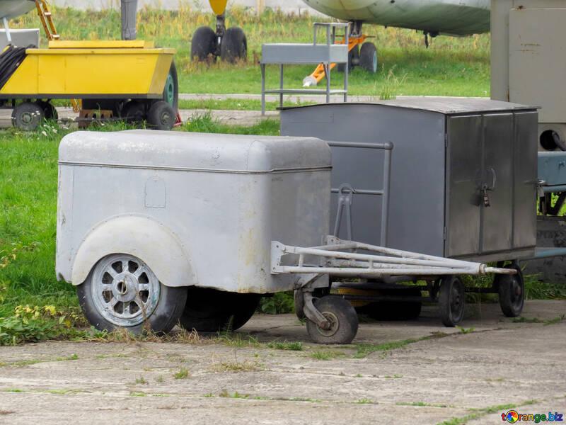 Trailers vintage car trailer constructing № 26371
