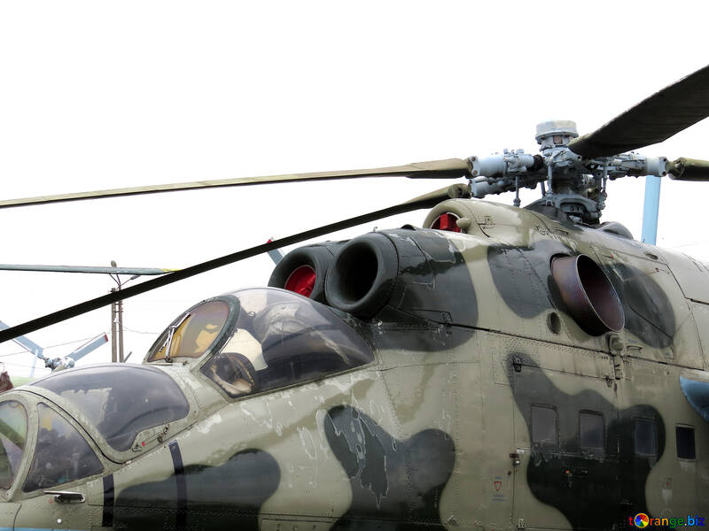 Military helicopter №26338