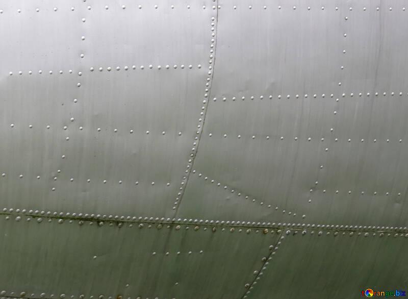 Textura del fuselaje con remaches №26453