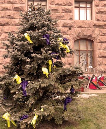 Christmas barricades №27953