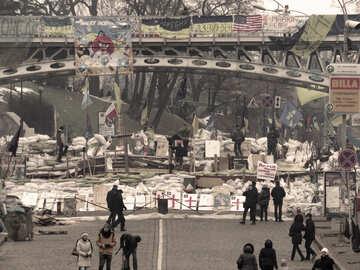 Barricade in Kiev №27808