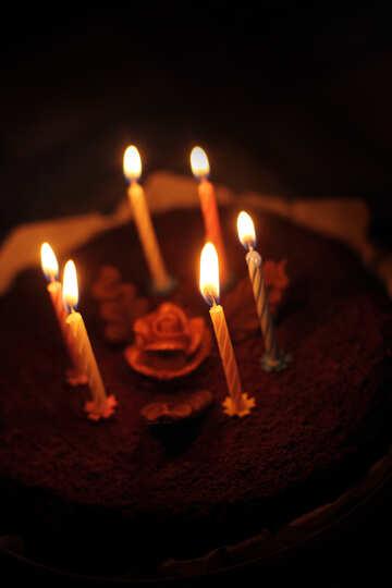 Festliche Kerzen №27010