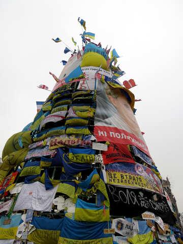 Revolutionary Christmas tree №27818