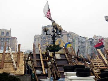 Winter revolutionary Kiev №27695