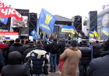 Menschen protestieren №27683