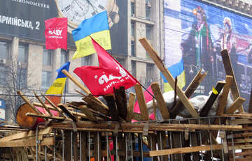 Barricades protesters №27699