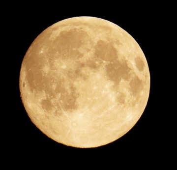 Round moon №27196