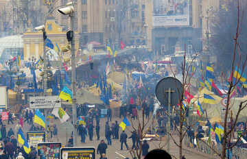 Peaceful protests in Ukraine