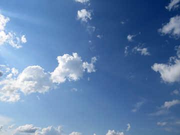 Sunny clouds №27368