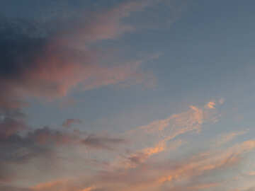 Sunset cloud №27300