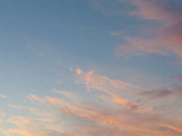 Texture sunset sky №27299
