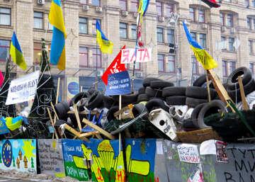 Ukrainian barricade №27875