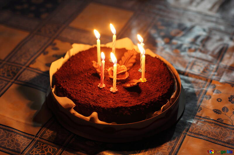Cake and candles №27004