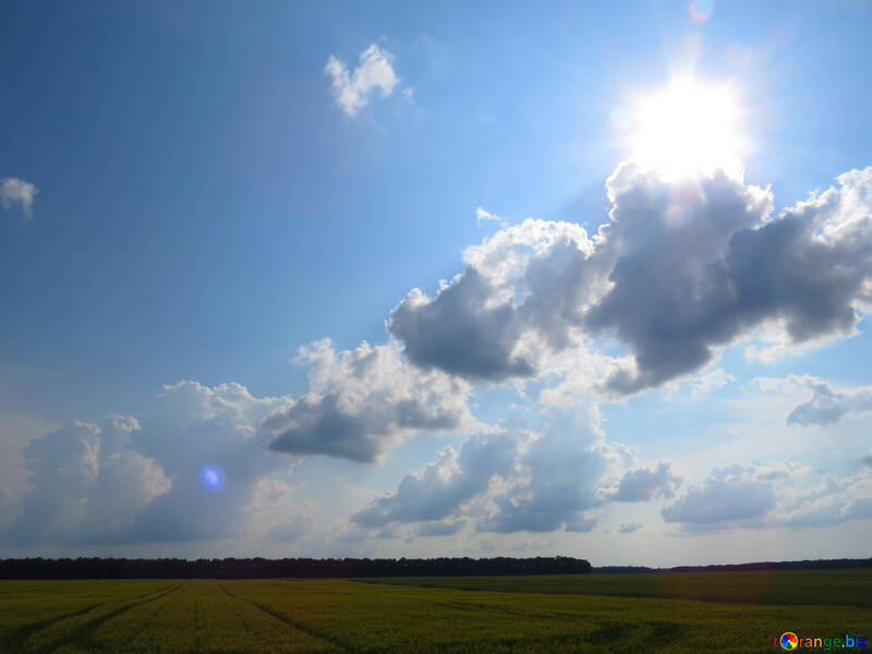 Sun behind the clouds №27334
