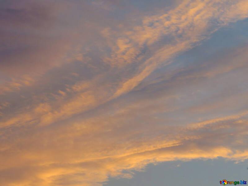 Hermosa puesta de sol №27310