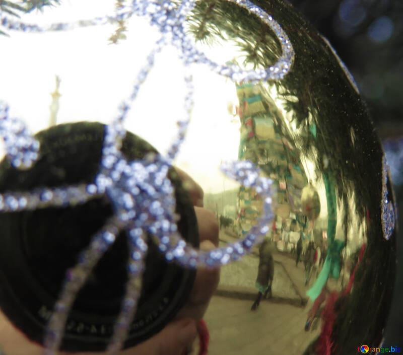 Евромайдан в ёлочном шаре №27833
