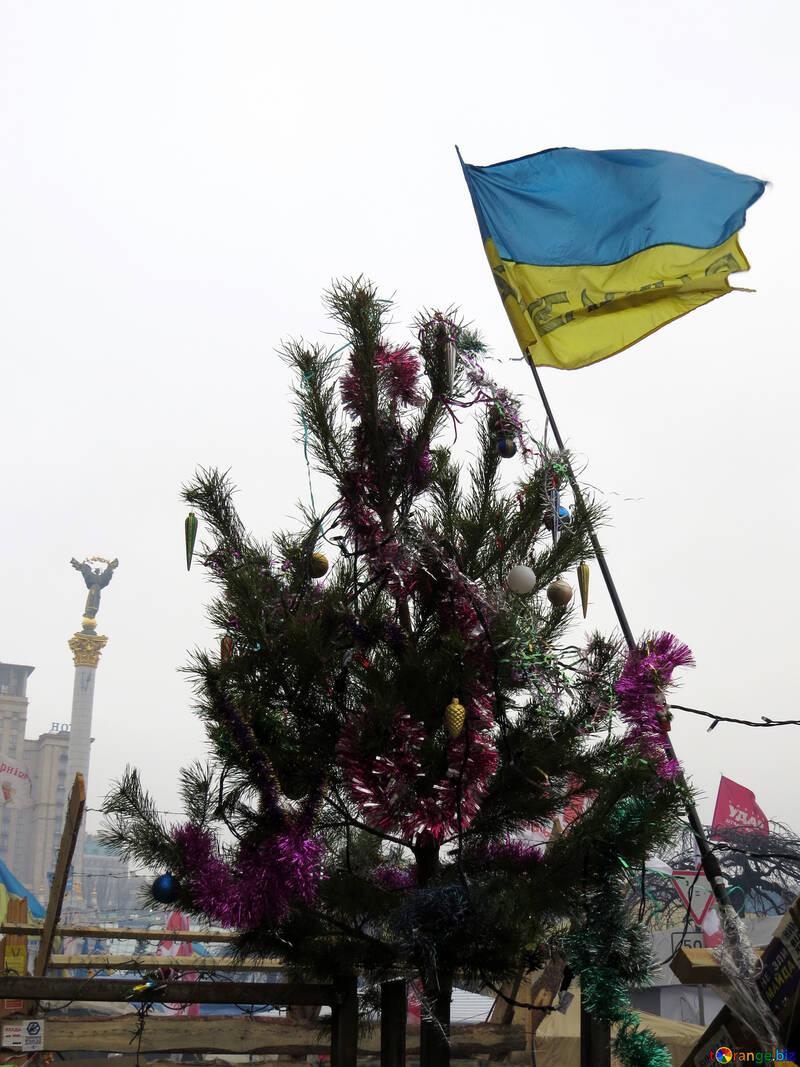 Barricada ucraniano Navidad №27716