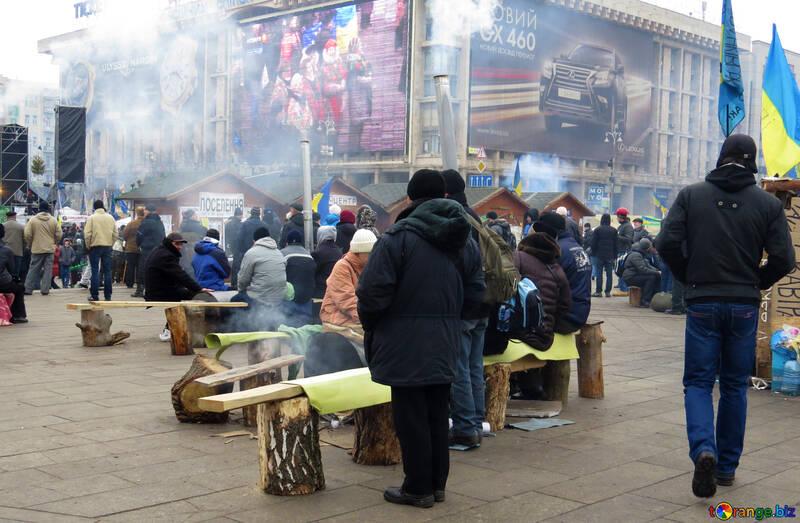 Winter Ukrainian prrotesty №27823