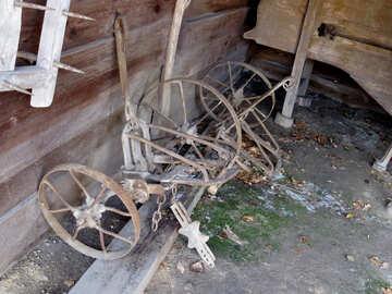 Alte landwirtschaftliche Geräte №28884