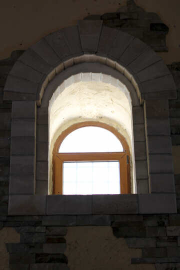 Window in the fortress №28448